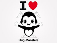 I Love Hug Monsters