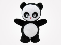 Love Panda Plush Toy - Designed in NYC / Take Action with a purchase!