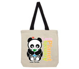 Animals Love Planet Cotton Canvas with contrasting handles