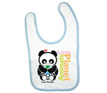 Animals Love Planet Baby Bib