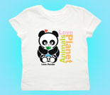 Animals Love Planet Toddler's Jersey T-Shirt
