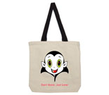 Count Cute Don't Harm, Just Love! Cotton Canvas contrasting hand