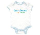 Cute Brands Baby Rib 2 Tone One Piece