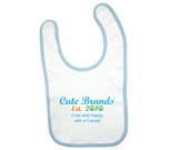 Cute Brands Cute and Happy with a Cause! Baby Bib‏