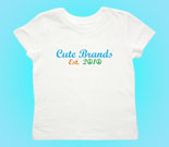 Cute Brands Toddler's Jersey T-Shirt‏