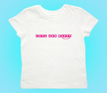 Cute and Happy Pink Toddler's Jersey T-Shirt