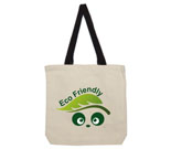 Eco Friendly Love Panda Abstract Cotton Canvas with contrasting