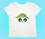 Ecologic Love Panda Abstract Toddler's Jersey T-Shirt
