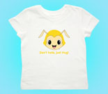 Hug Monsters Head Yellow Toddler's Jersey T-Shirt