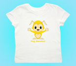 Hug Monsters Yellow Toddler's Jersey T-Shirt