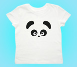 Love Panda Abstract Boy Toddler's Jersey T-Shirt
