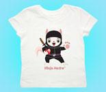 Ninja Meow Toddler's Jersey T-Shirt