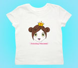 Princess Cherry Toddler's Jersey T-Shirt