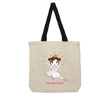 Princess Cherry Light Hair Cotton Canvas with contrasting handle
