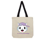 Top Dog Purple Hat without Bullying Cotton Canvas with contrasti