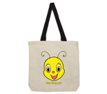 Youbee Head Cotton Canvas with contrasting handles bag