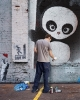 Love Panda grafitti